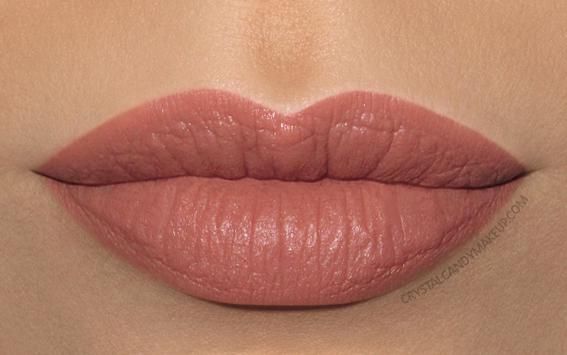 Clarins Joli Rouge Velvet Lipstick Swatch 758v sandy pink
