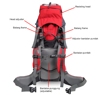 alpinist 70+5L, carrier