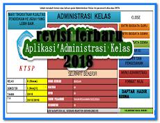 Aplikasi Administrasi Guru Kelas Revisi Terbaru 2018