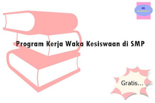 Program Kerja Waka Kesiswaan SMP
