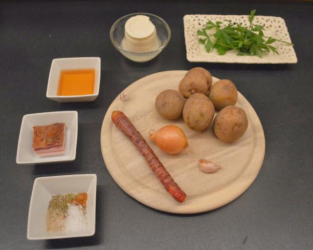 Kartoffelsuppe Zutaten unbearbeitet - Photo by Alexander Vollmer