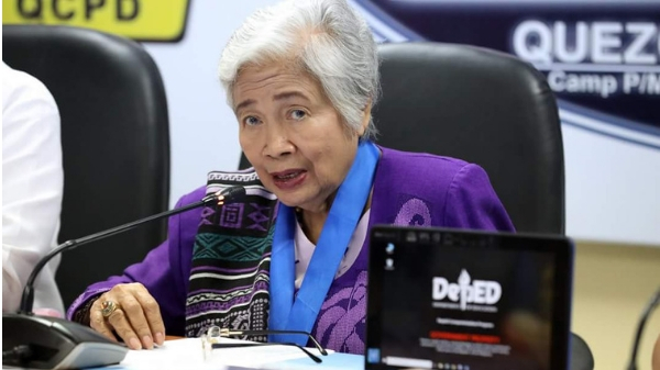 Department of Education (DepEd) Secretary Leonor Briones.