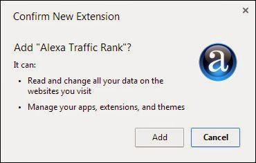 Cara Instal Alexa Toolbar pada chrome