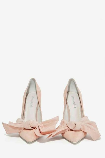 Gingham heel