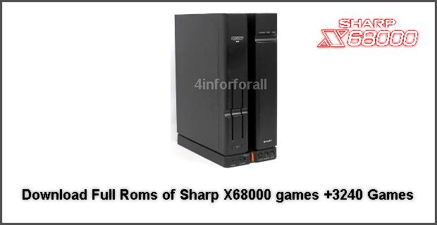 موسوعة تاك: Sharp X68000 games +3240 شرح+تحميل جميع الرومات