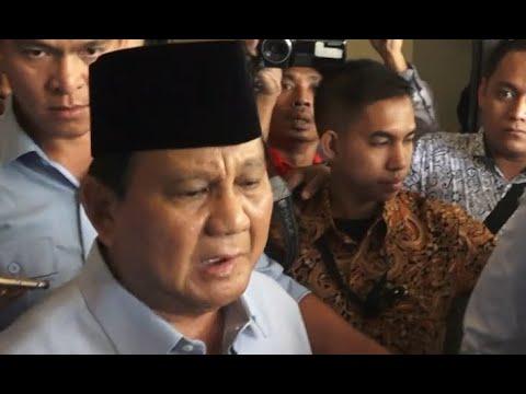 Soal Reuni Akbar 212, Prabowo Subianto: Media Harus Obyektif, Jangan Menipu Rakyat