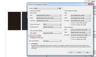 Solusi Mengatasi Warna black tidak 100% ketika di PDF Pada Mode Grayscale