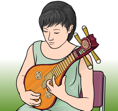 柳琴(Liuqin リウチン りゅうきん)