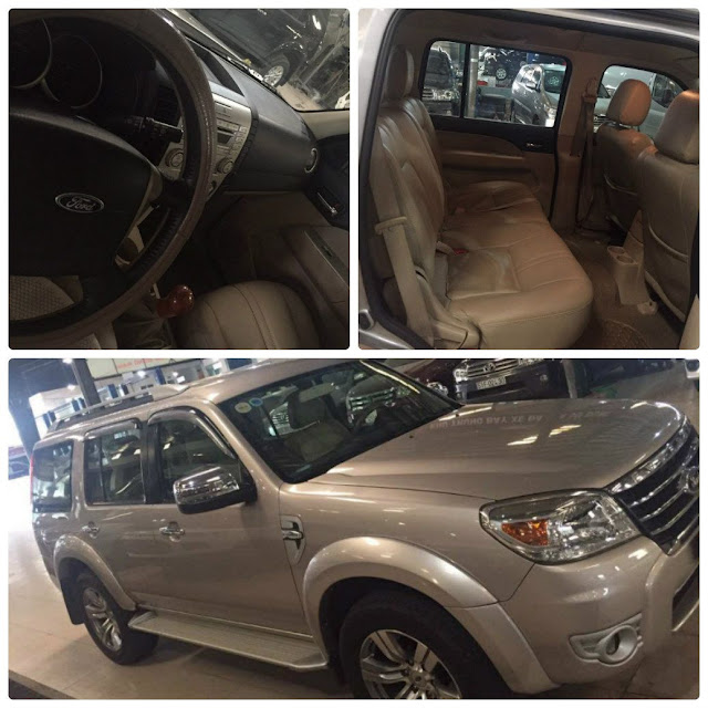 BÁN XE FORD CŨ  FORD EVEREST 2011-1