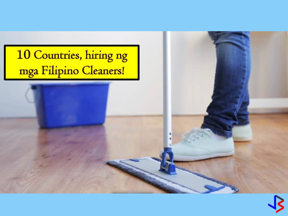 Japan, Malta, Oman, Saudi Arabia, Kuwait, United Arab Emirates, Qatar, Brunei, and Jordan! These countries are now hiring for male and female Filipinos who are willing to work as a cleaner in hospitals, public area, and buildings. The job orders below are latest approved by the Philippine Overseas Employment Administration (POEA) where you can apply this October 2018!  Jbsolis.net is NOT a recruitment agency and we are NOT processing nor accepting applications for jobs abroad. All information in this article is taken from the website of POEA — www.poea.gov.ph for general purposes only. Recruitment agencies are being linked to each job orders so that interested applicants may know where to coordinate and apply for their desired position.    Interested applicant may double-check the job orders as well as the licensed of the hiring recruitment agencies in POEA website to make sure everything is legal.
