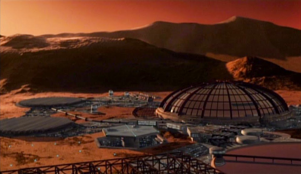 Mars colony in Babylon 5