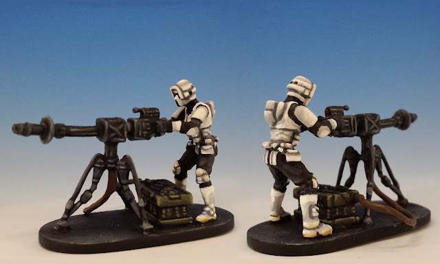 E-Web Engineers, Imperial Assault FFG (2014, sculpted by Benjamin Maillet)
