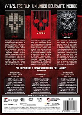 VHS Trilogy (sinossi e contenuti extra)
