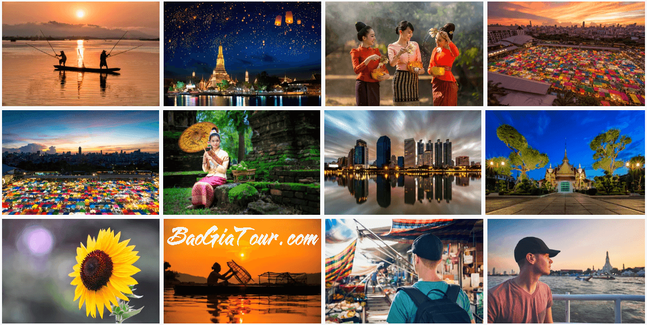 Báo giá tour Thái Lan tháng 1 trọn gói trong 5 ngày 4 đêm