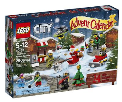 JUGUETES - LEGO City  60133 Calendario de Adviento | Navidad 2016  Piezas: 290 | Edad: 5-12 años  Comprar en Amazon España