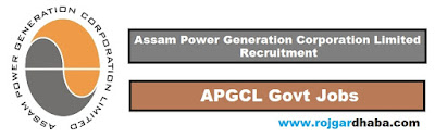 APGCL Jobs In Assam, Assam Power Generation Corporation Limited Vacancy.