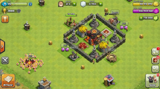 Clash of Clans v10.134.6 Mod Apk Terupdate (Unlimited Gems/Gold/Elixir)