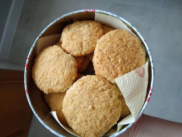 Niebiańskie ciasteczka owsiane