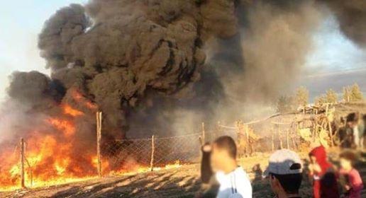 اندلاع حريق مهول بإحدى الفنادق بآكادير