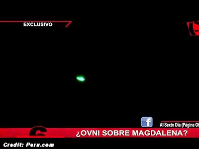 Strange Object Startles Residents of San Isidro (Peru) 10-5-14