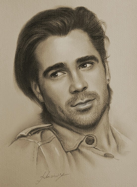 16-Colin-Farrell-krzysztof20d-2b-and-8b-Pencils-Clear-Pastel-Celebrity-Drawings-www-designstack-co