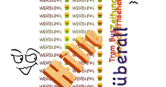 #Werbung überall …. (Advertising)Time is money