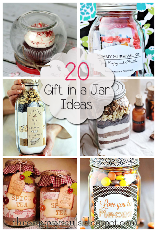 20 Unique Gift in a Jar Ideas and Recipes         -          Three Gypsy Souls
