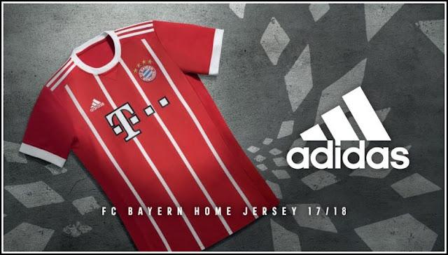 Bayern München 17-18 Home Kit