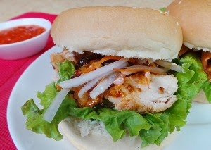 Resep Burger Daging Ayam