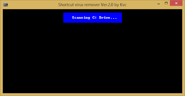 Shortcut virus remover ver.2.0 by kvc