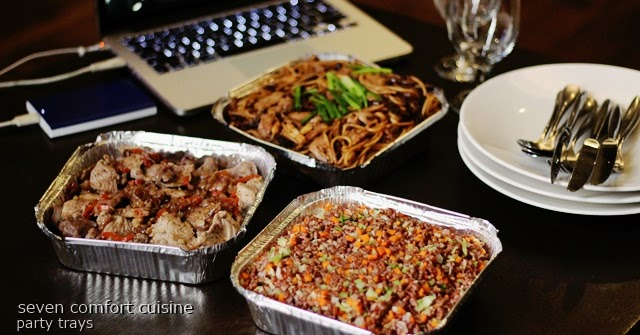Seven Comfort Cuisine Manila Healthy Party Food Trays