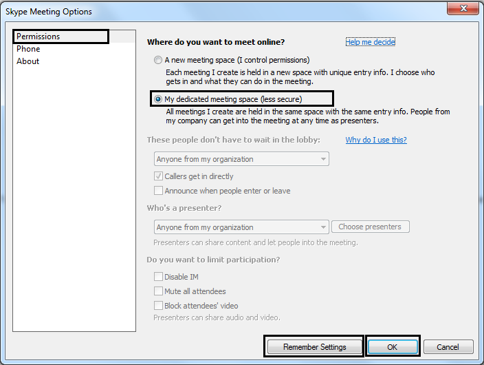 How to create clickable and mobile friendly conference ID in Skype
