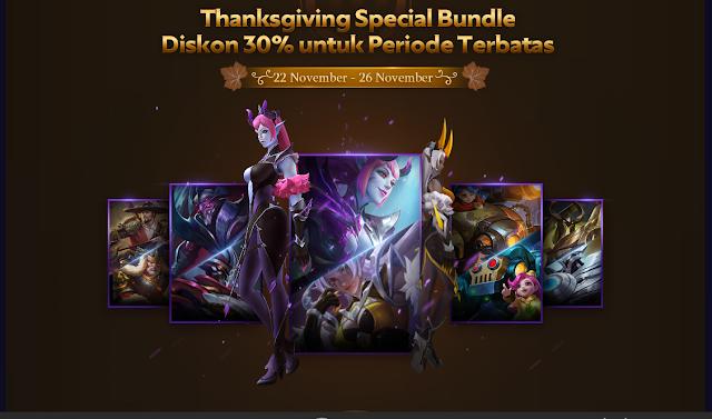 Dapatkan Diskon 30% Untuk Pembelian Paket Hero Dan Skin Mobile Legends 5