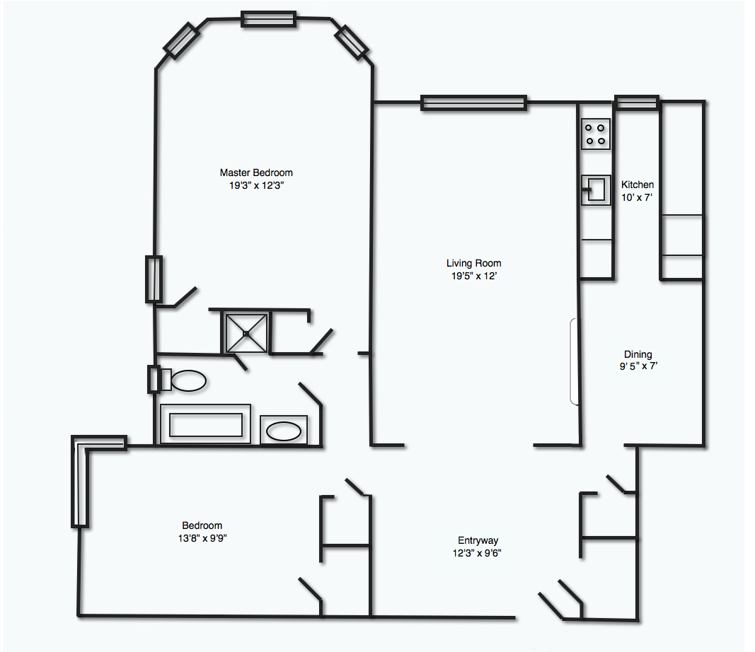 Floor Plan Before