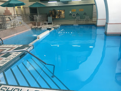 Swimming pool at Holiday Inn Hotel & Suites Windsor (Ambassador Bridge)