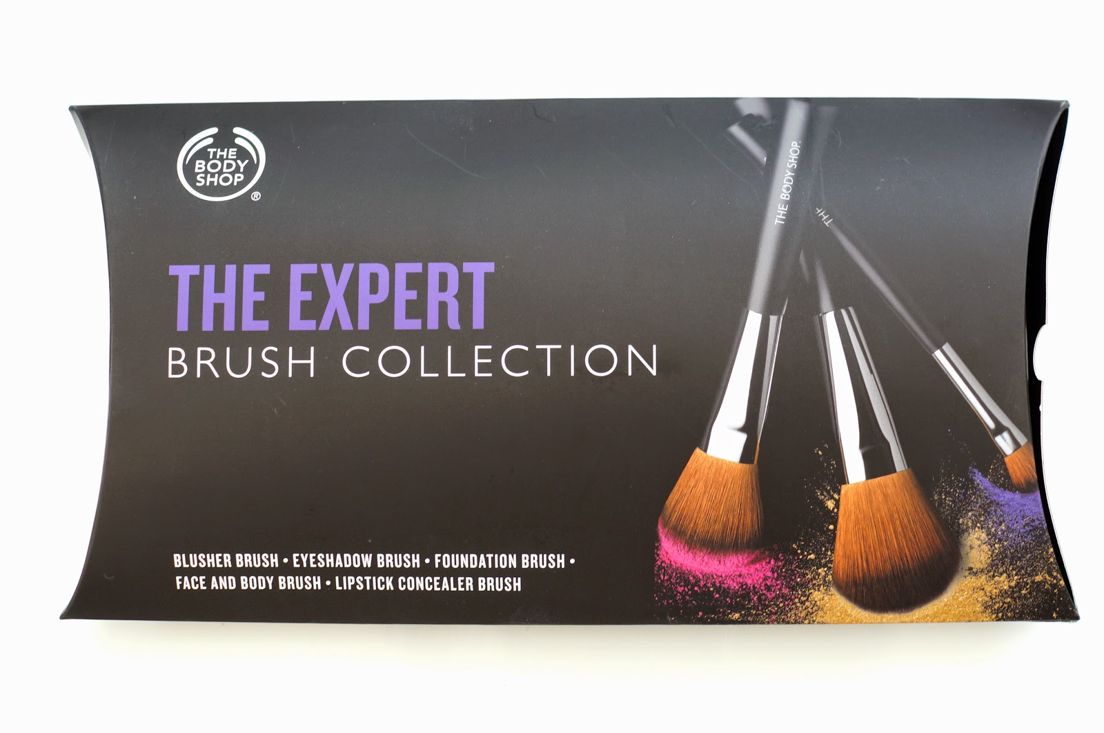 The Body Shop The Expert Brush Collection