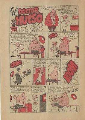 El Doctor Hueso, Bacilos nº 4