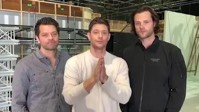 Supernatural Termina na 15ª temporada - Anúncio
