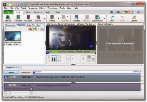 Free PDF Software: NCH VideoPad Video Editor Professional ...