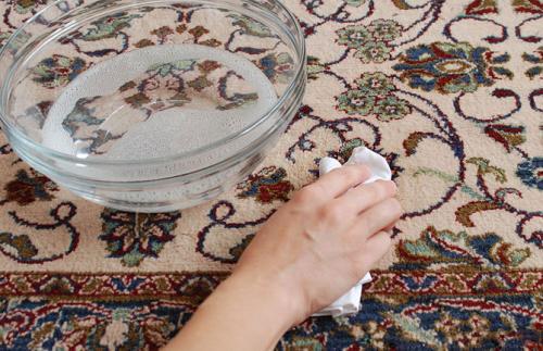 طريقة غسل السجاد على الناشف