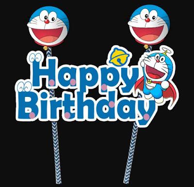 Gambar Kartu Ulang Tahun Doraemon Ucapan Happy Birthday Pics