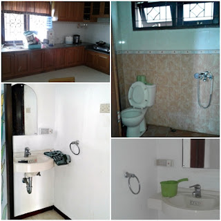 villa diva kamar mandi dan wastafel