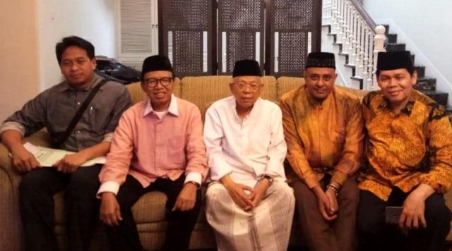 Pasca Reuni 212: Ma'ruf Amin Dikabarkan Sakit, Ketua GNPF Ulama Datang Menjenguk
