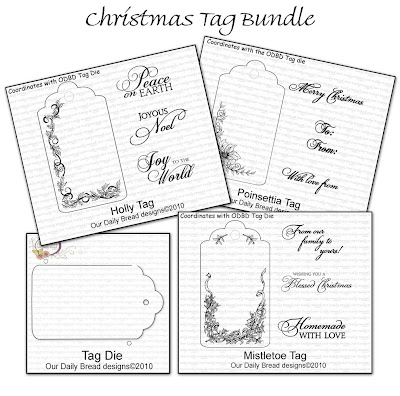 "Our Daily Bread designs ""Christmas Tag Bundle"""