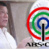 Duterte says he's willing to make a deal with ABS-CBN if…