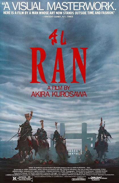 Ran, Directed by Akira Kurosawa