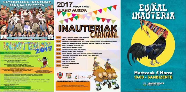 Carteles de carnaval en Barakaldo