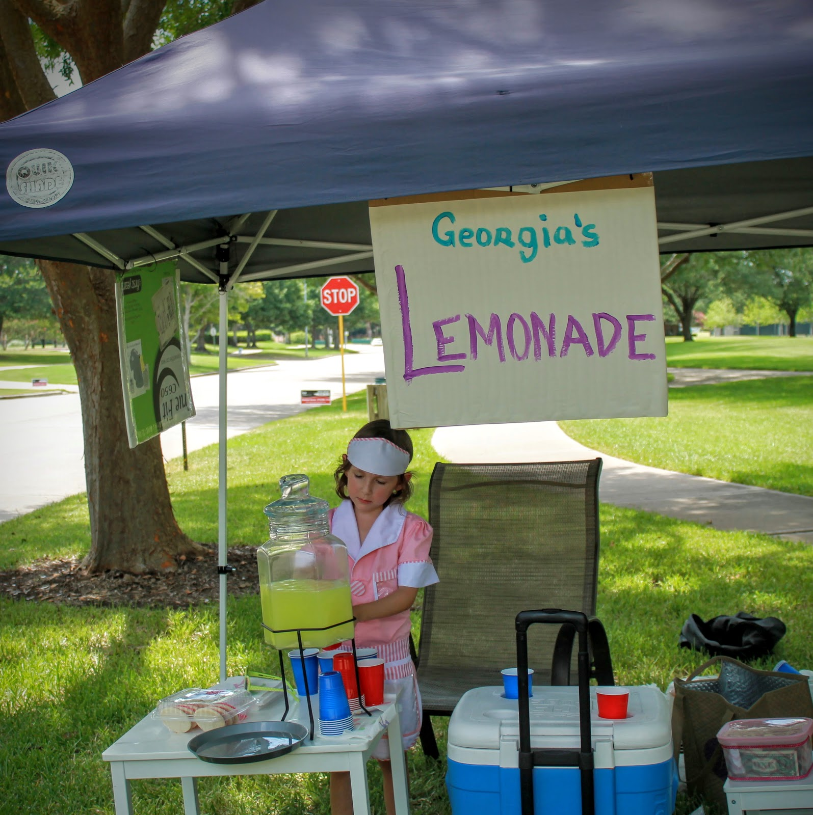 haute mommy blog lemonade stand