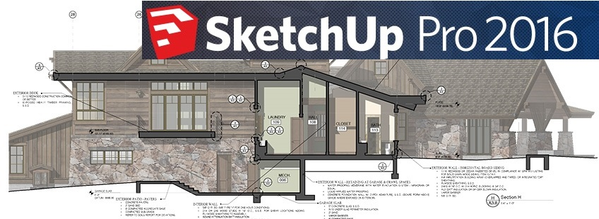 SketchUp Pro 2016 16 1 2105 (32-64) BIT + cracked files