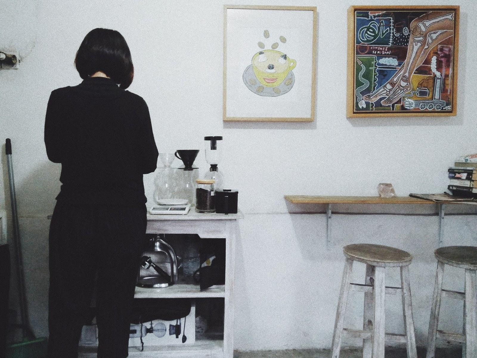 Menyusuri Prawirotaman Jogja : Hidup Ketika Pagi, Redup Kala Malam Menanti - Kiosk Coffee Parangtritis